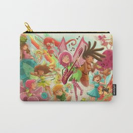 Goblins Drool, Fairies Rule! - Team Fairy Carry-All Pouch