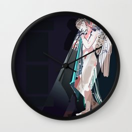 A moment of rest Wall Clock
