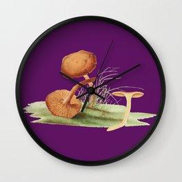 Agaricus Cinnamomeus Wall Clock