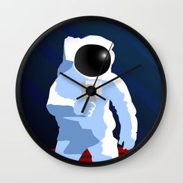 f8 & Be There Wall Clock