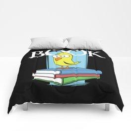 Book (white txt) Comforters
