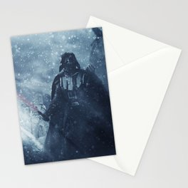 Hoth Landing Zone Stationery Cards