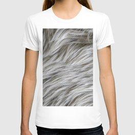 Sheep skin for a fluffy hair lover T-shirt