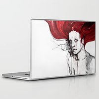 in the flesh Laptop & iPad Skins featuring in the flesh by agnes-cecile