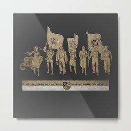 demo Metal Print