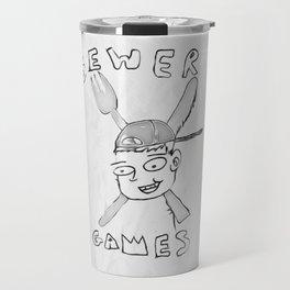 Sewer Games Pencil Travel Mug
