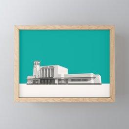 Surbiton Station Framed Mini Art Print