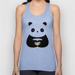 Panda Love Unisex Tank Top