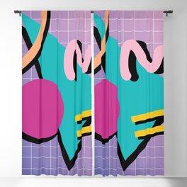 Memphis Pattern 10 - 90s - Retro Blackout Curtain