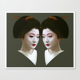 Geiko Canvas Print
