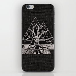 Valknut Symbol and Tree of life  -Yggdrasil iPhone Skin