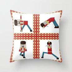Nutcracker Zen Throw Pillow