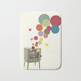 Colour Television Bath Mat