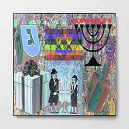 Hanukkah Metal Print