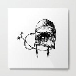 Parskid Drinking Metal Print