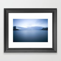 The Blue Lagoon Framed Art Print