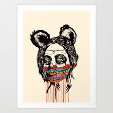 Wonderdam Girl Art Print