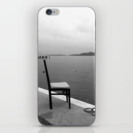 lonely chair iPhone Skin