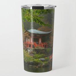 Hidden Japanese Temple Travel Mug