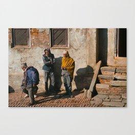 Three Men Canvas Print