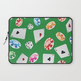 #casino #games #accessories #pattern 4 Laptop Sleeve