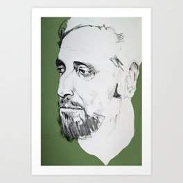 Timothy Carey Art Print