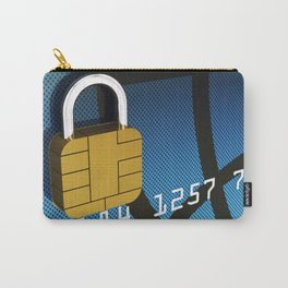 Safe and secure banking Carry-All Pouch