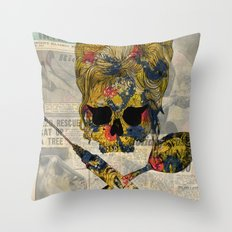 Back to Smack Throw Pillow