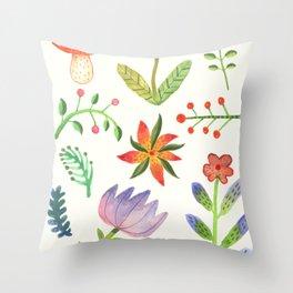 Summer Dew Throw Pillow