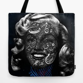 Monroe in the stars Tote Bag