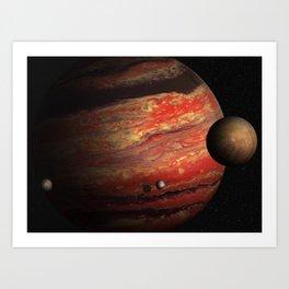 WASP-6b, Hot Jupiter Art Print