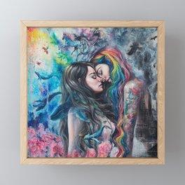 Colorful Me Framed Mini Art Print