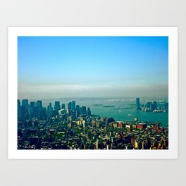New York from the Empire State Building Art Print