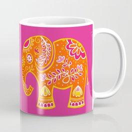 the magic elephant ... orange Coffee Mug