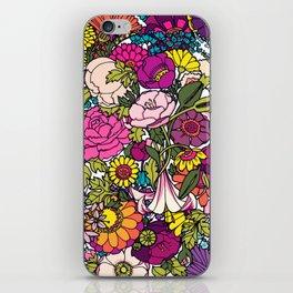 Summer garden iPhone Skin