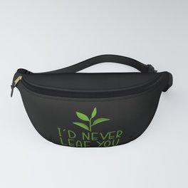 Funny Gardener Gift Gardening Saying Fanny Pack