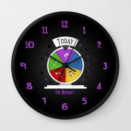 I am Afraid Wall Clock