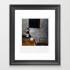Costa Rica Polaroid #47 Framed Art Print