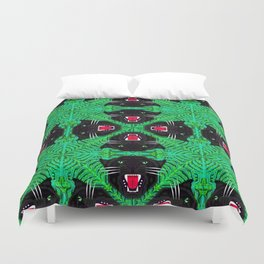 Tropical Gothic Pattern  Duvet Cover