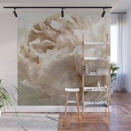 White Peony Wall Mural