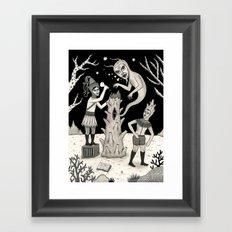 Evicted Framed Art Print