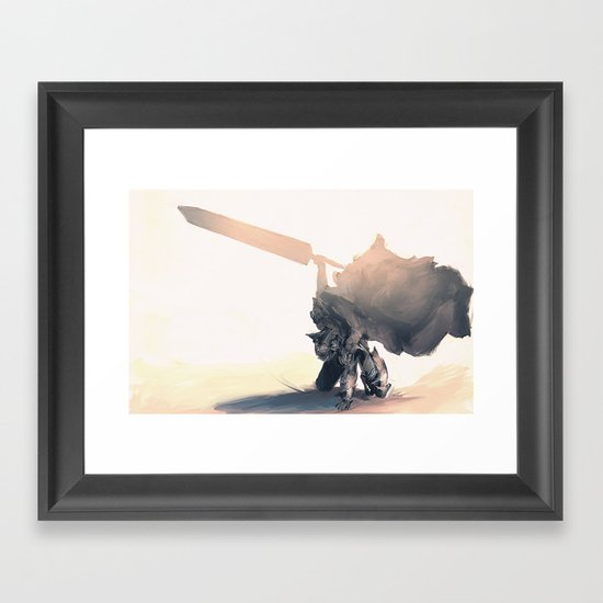 Berzerk Framed Art Print