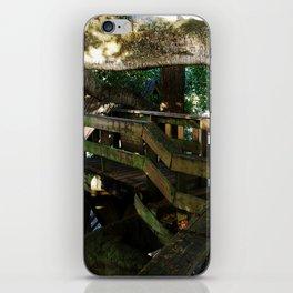 Tree house @ Aguadilla 5 iPhone Skin