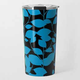 Cobalt Foliage Travel Mug