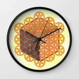 Metatron's Cube Wall Clock