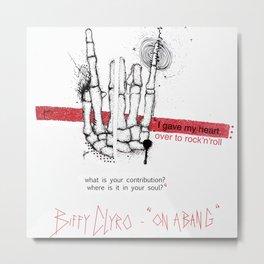 """Biffy Clyro - """"on a bang"""" Metal Print"""