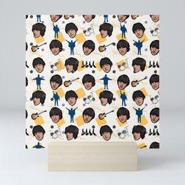 TheBeatles Pattern Art Mini Art Print