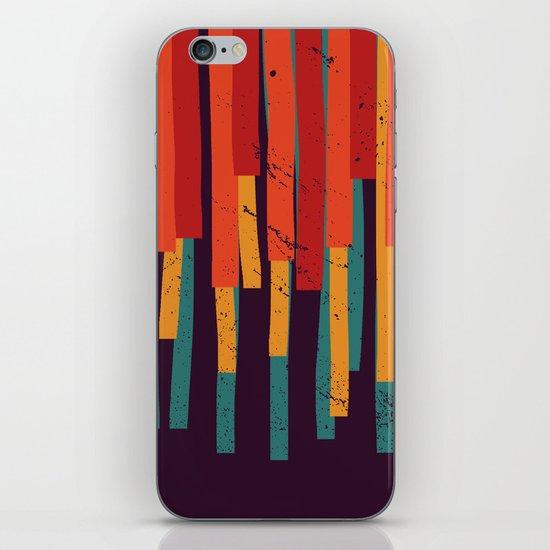 Squared Stripes iPhone & iPod Skin