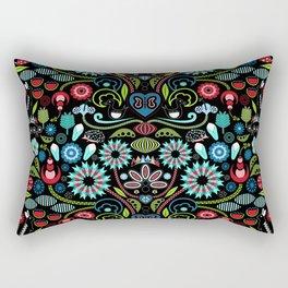 Scandinavian Inspiration (Black) Rectangular Pillow