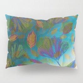 Ginkgo Leaves Under Water Pillow Sham